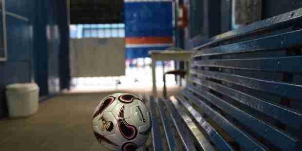 Balón Fútbol banco