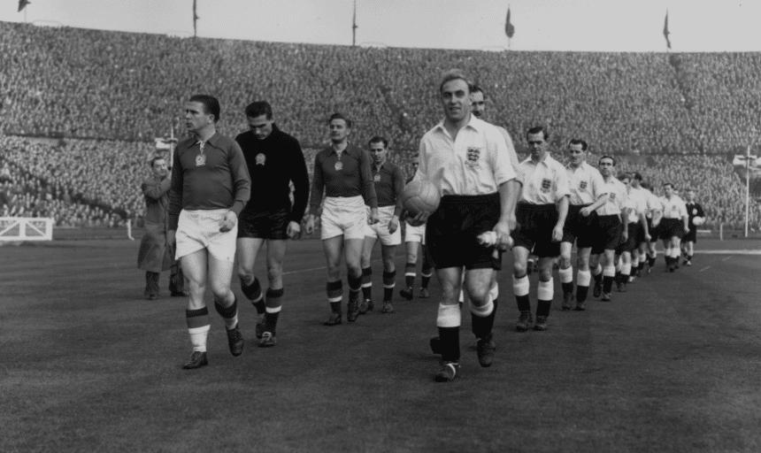 Inglaterra Hungría Wembley