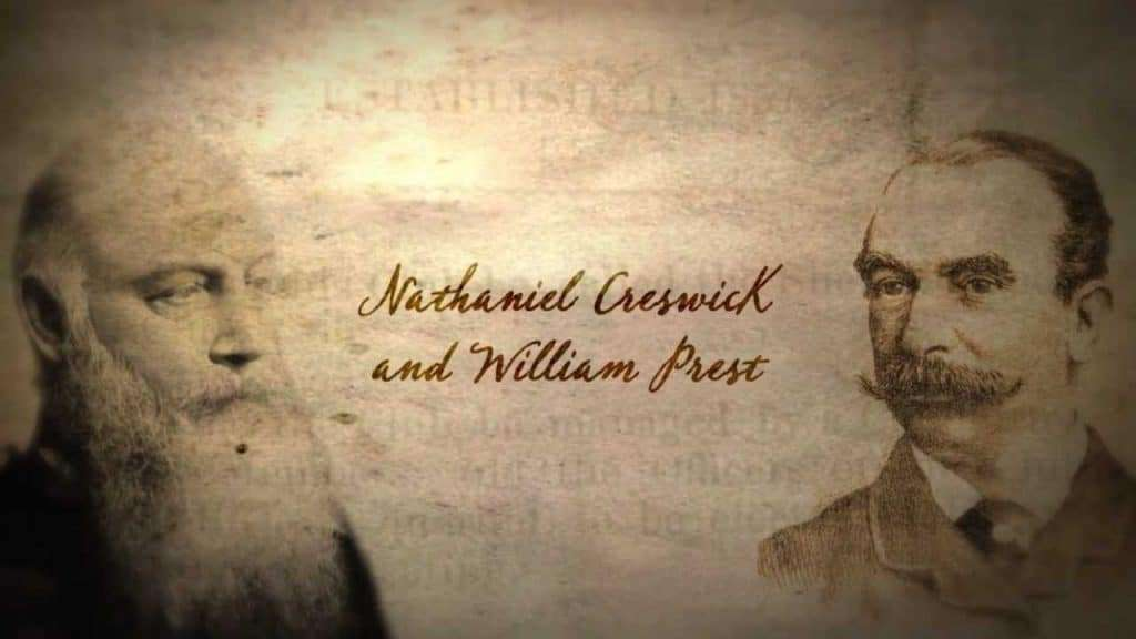 Nathaniel Creswick y William Prest, fundadores del Sheffield Football Club