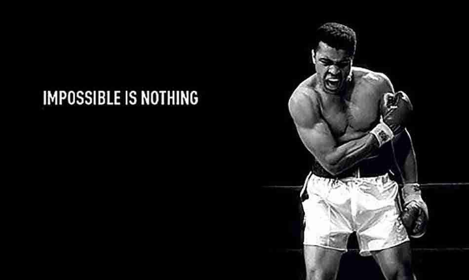 Mohamed Ali campaña Adidas
