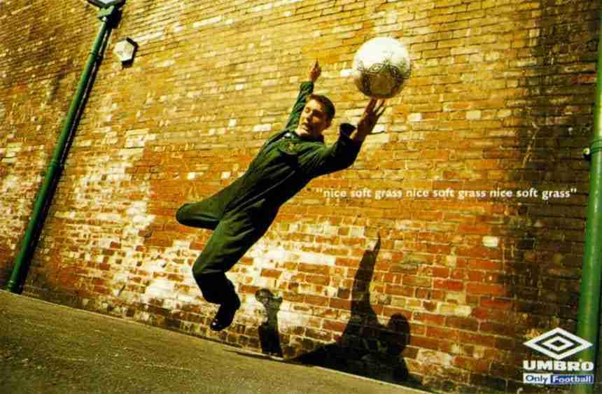 Campaña Umbro fútbol