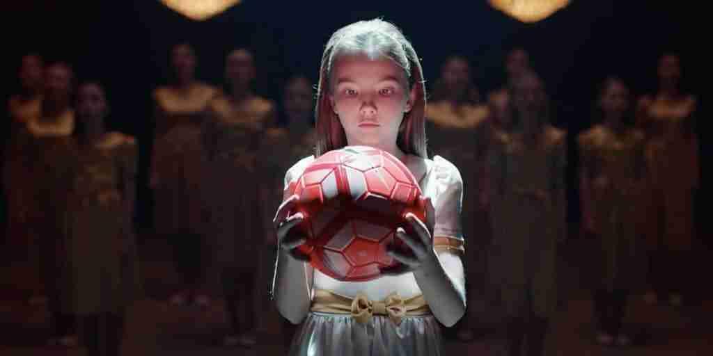 "Imagen del Spot de Nike"" What are girls made of"""