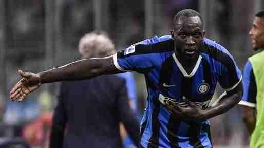 Lukaku celebra gol Inter de Milan