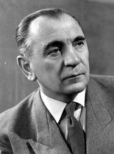 Gustav Sebes seleccionador de Hungría