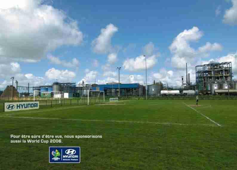 Anuncio Hyundai fútbol