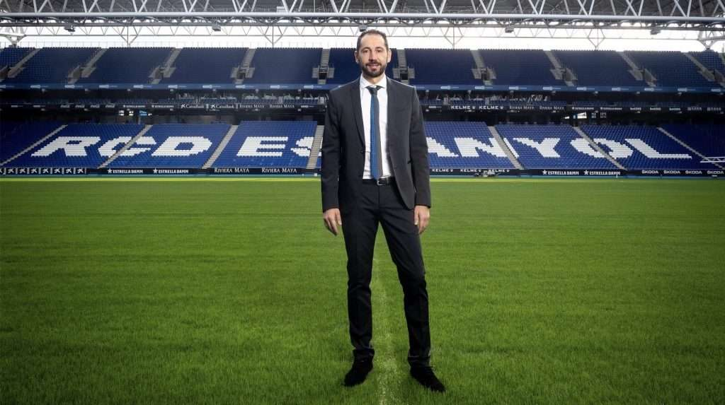 Machín entrenador RCD Espanyol