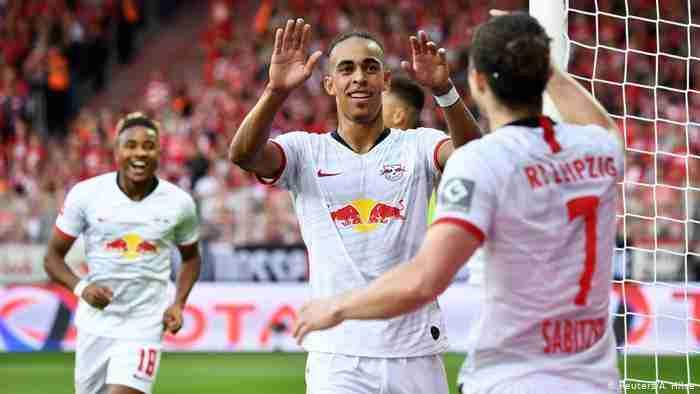 Celebración gol el RB Leipzig