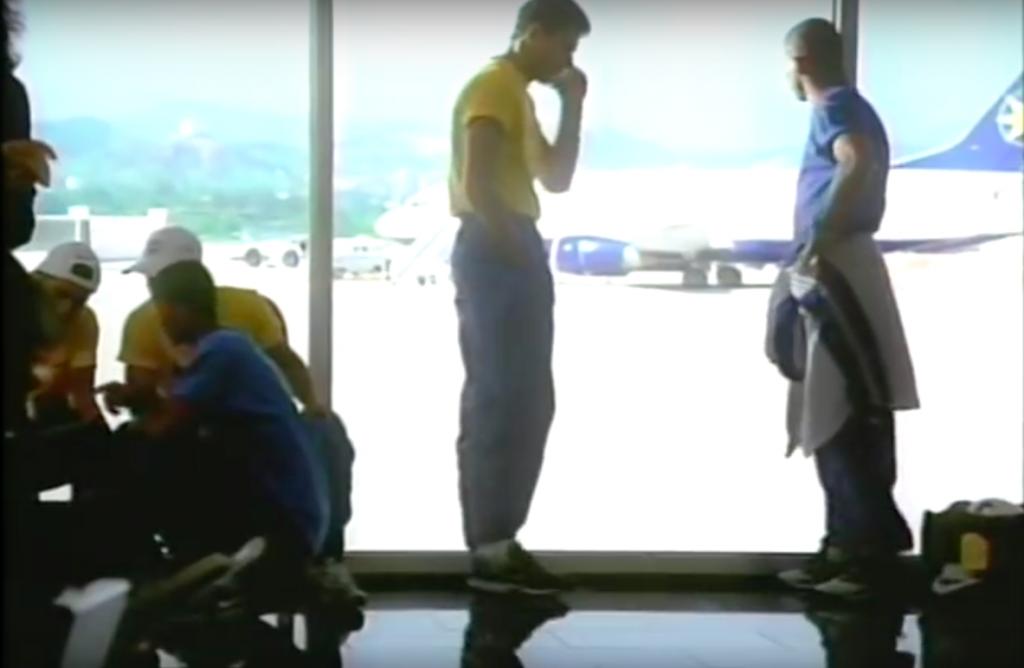 Anuncio Nike Brasil aeropuerto