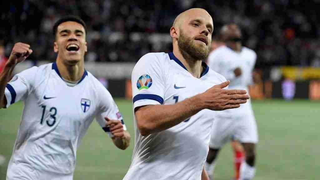 Teemu Pukki gol Finlandia