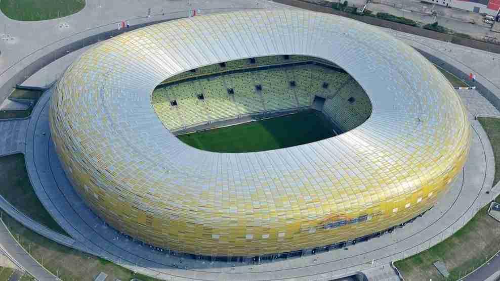 Estadio de Gdansk, sede de la final de la UEFA Europa League 2020