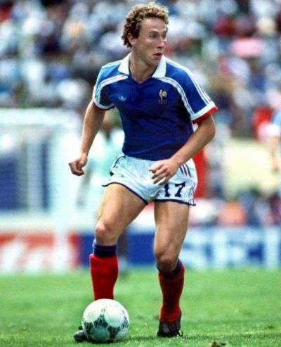 Papin disputó con Francia el Mundial de 1986 en México