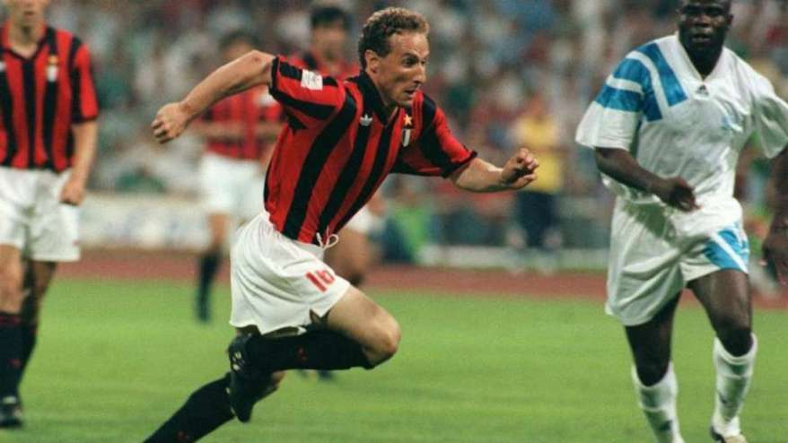 Papin perdió la Final de la Copa de Europa de 1993 ante su antiguo equipo