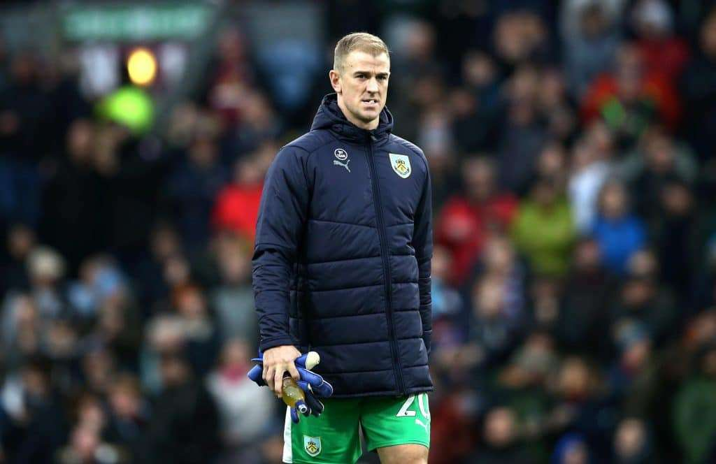 Joe Hart suplente Burnley