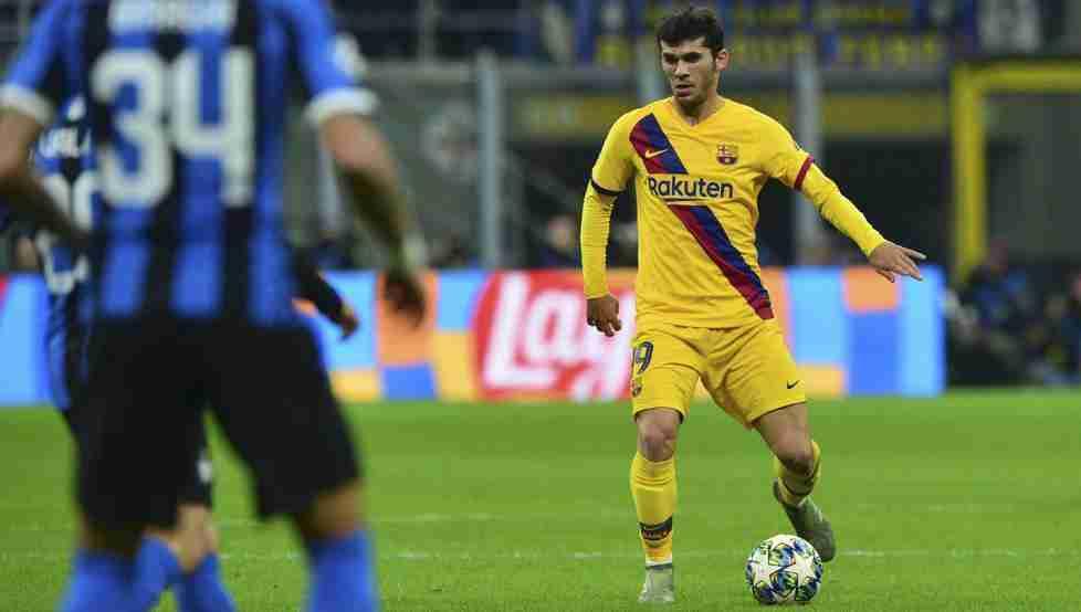 Aleñá Inter Milan Barcelona