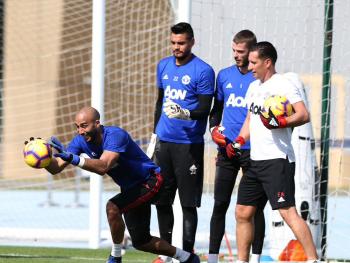 Lee Grant Sergio Romero David de Gea Manchester United