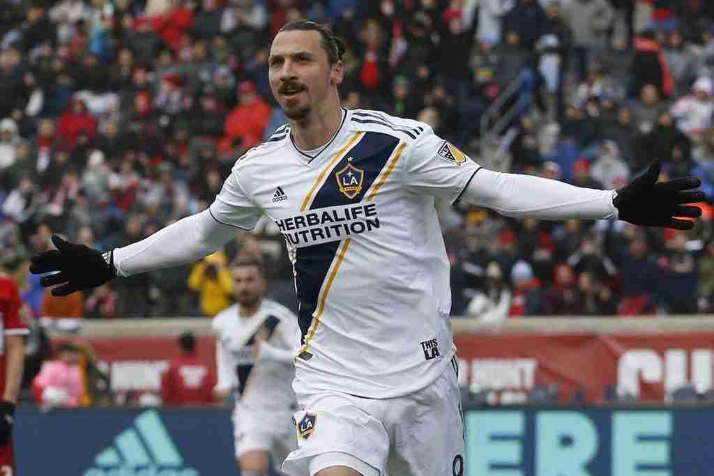 Zlatan Ibrahimovic sigue goleando en la MLS