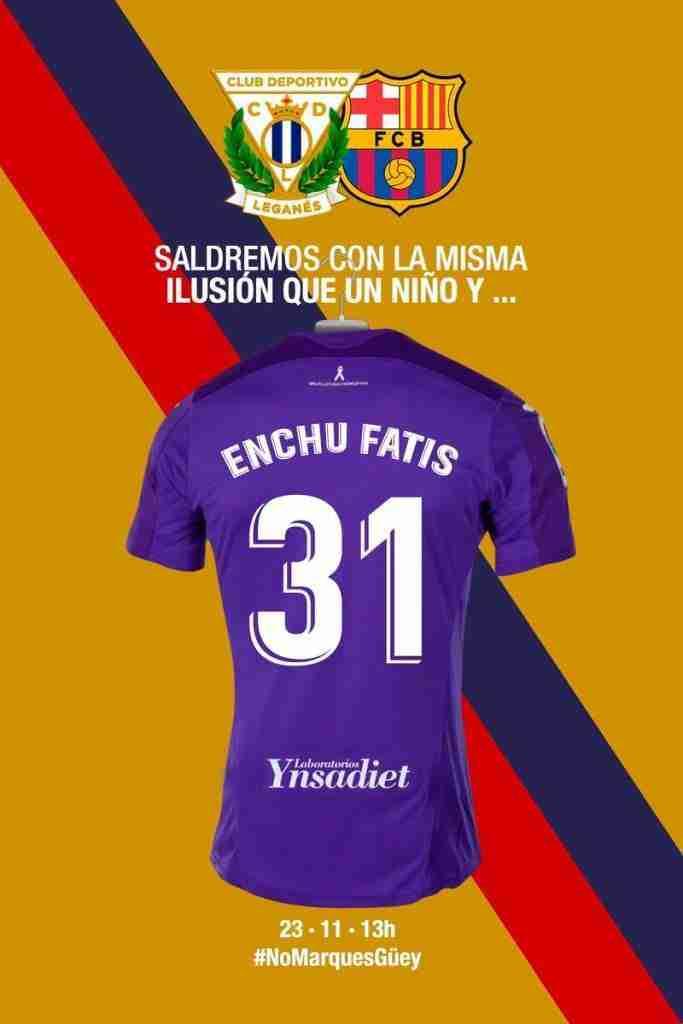 Campaña Leganés Enchu Fatis