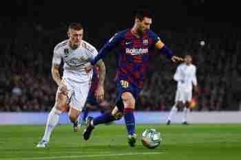 Messi y Kroos Barcelona Madrid