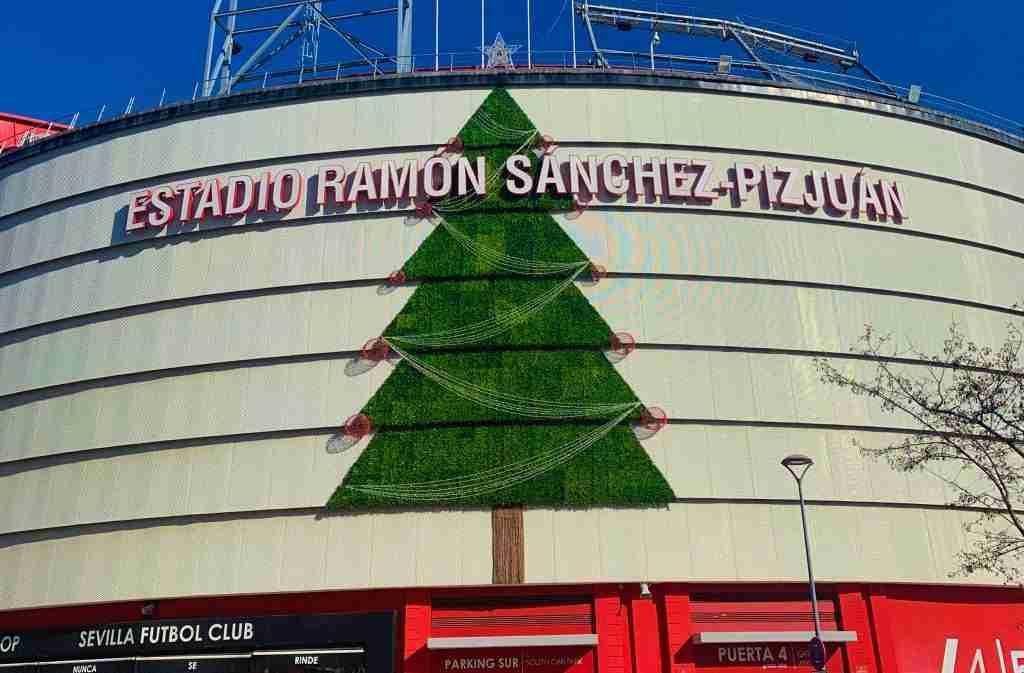 Fachada Estadio Ramón Sánchez Pizjuan