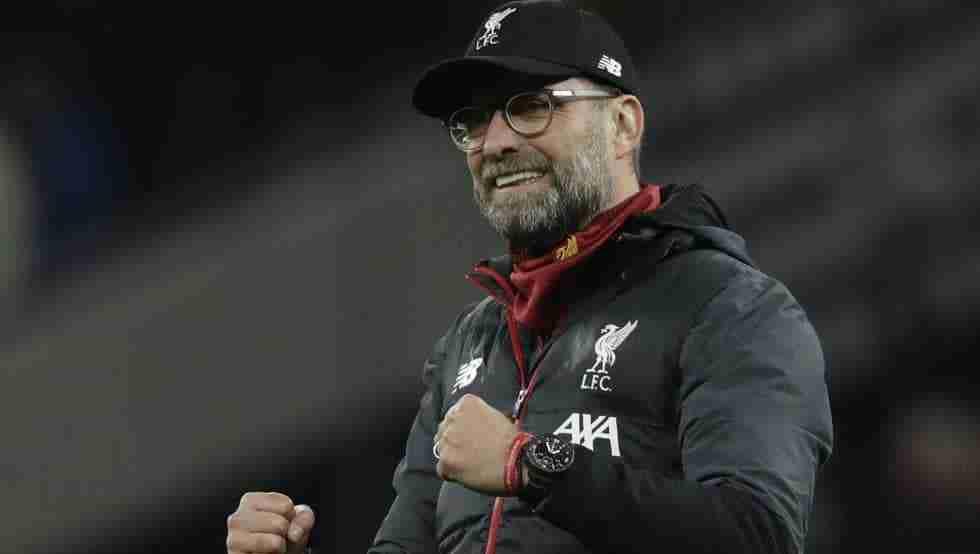 Jurgen Klopp celebra gol Liverpool