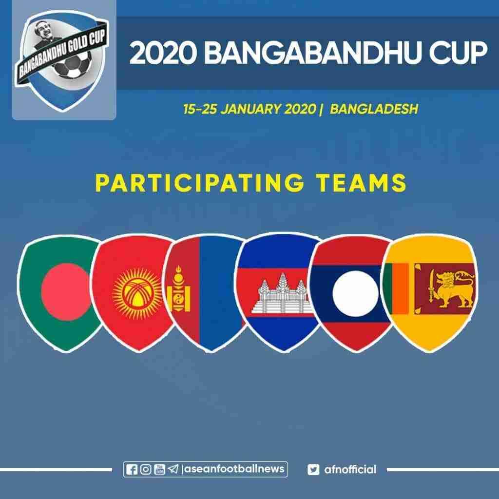 Bangabandhu Gold Cup 2020 teams