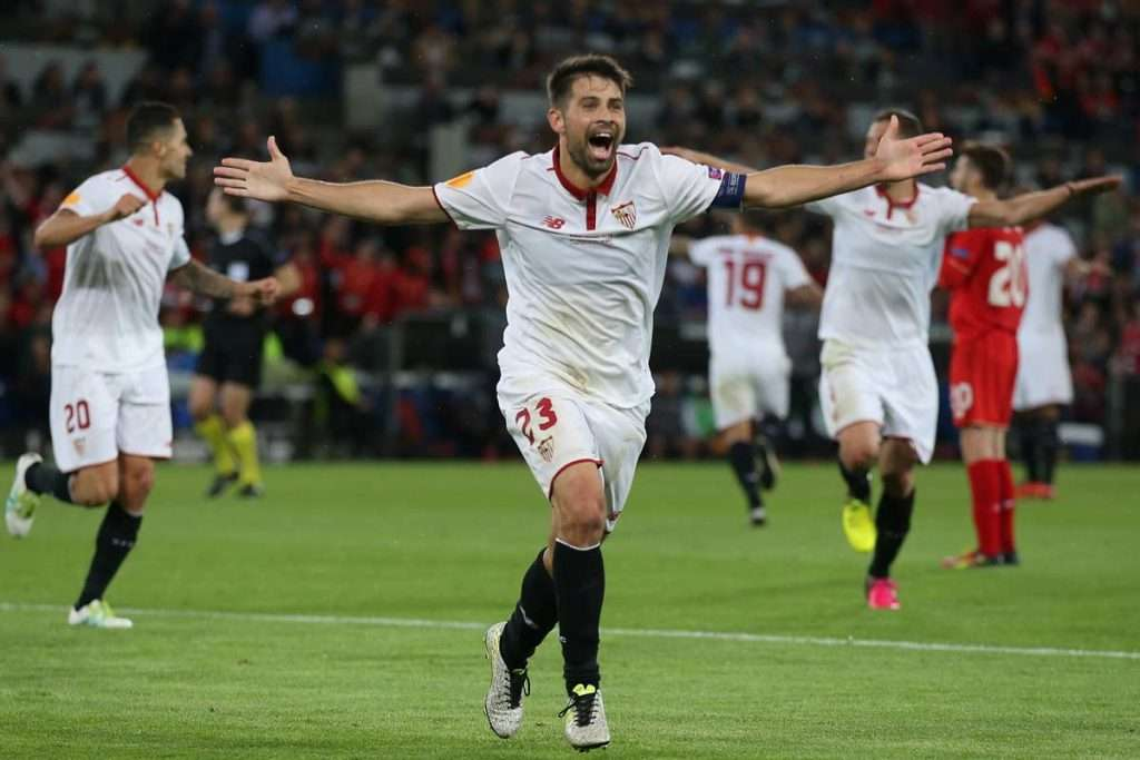 Coke celebra gol Europa League