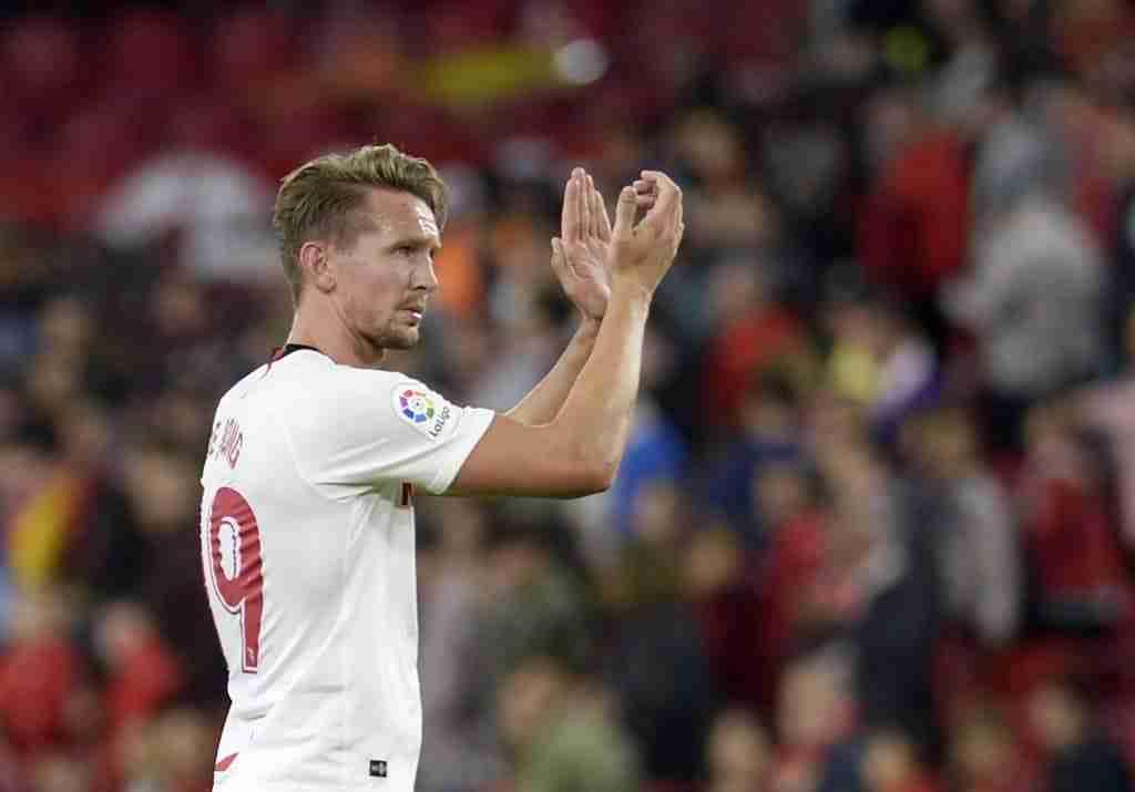 Luuk de Jong no ha triunfado en sus primeros partidos con el Sevilla F.C.