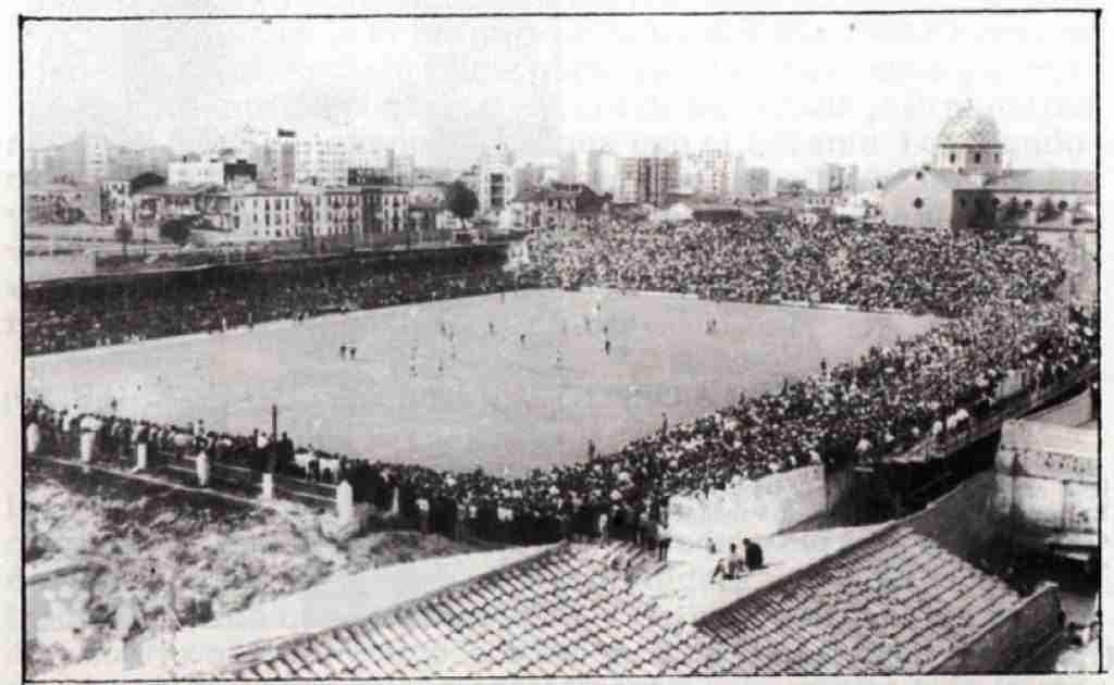 Campo del Levante UD en 1963