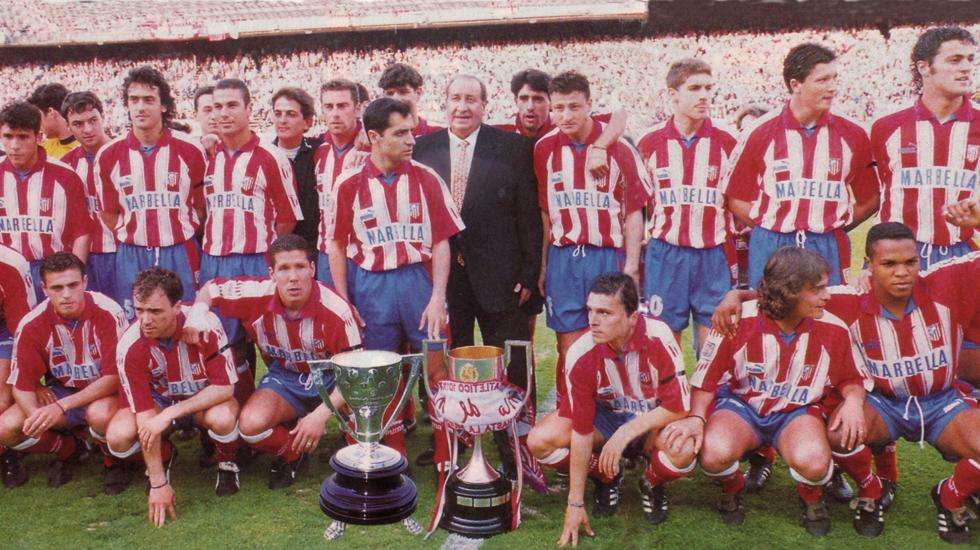 Doblete Atlético de Madrid